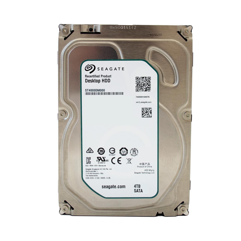 Seagate Barracuda Desktop –  Disco Duro Interno 3,5 ', 8,9 cm, Desktop PC, HDD, NAS, 7200 RPM, SATA de 600, SATA3, Serial ATA –  recertified 64MB Cache 4.000GB (4TB) 5 9cm 7200RPM i.norys