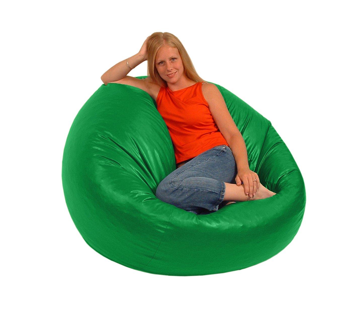 Comfy Bean Beanbag Large Vinyl Lime