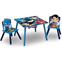 Delta Children Kids Chair Set and Table, DC Super Friends   Batman   Superman   Wonder Woman   The Flash