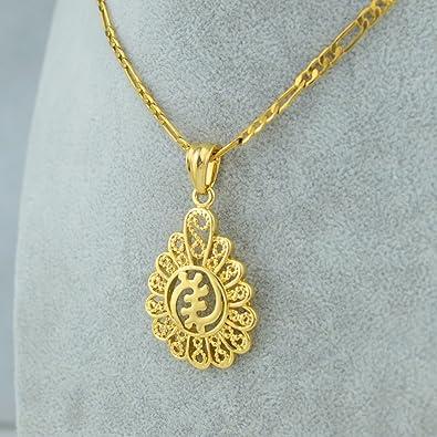 UsDeSiGn African Adinkra Gye Nyame Ethnic Jewelry Ghanaian