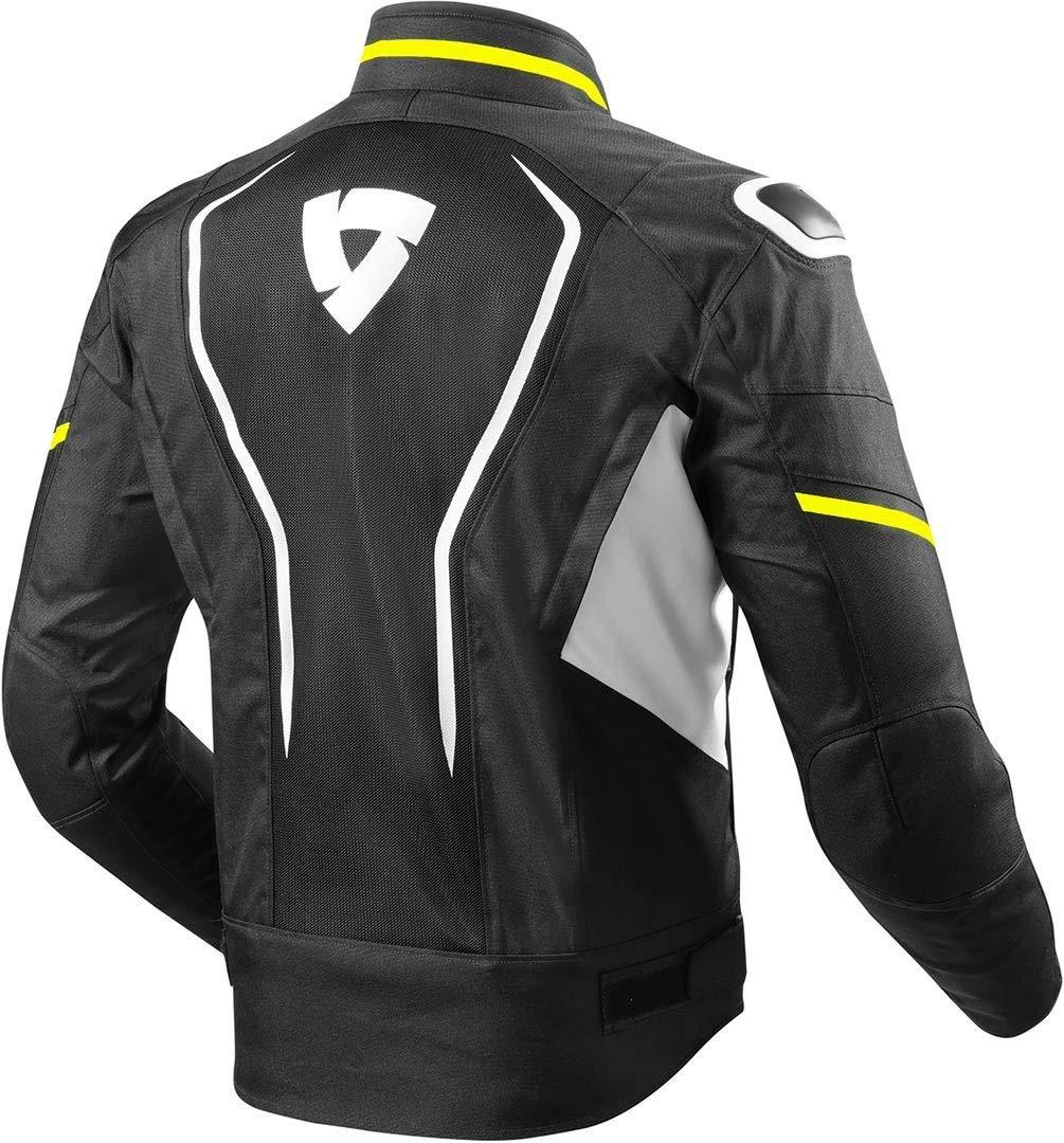 FJT243-3610-XL Rev It Vertex Air Motorcycle Jacket XL Light Grey Black
