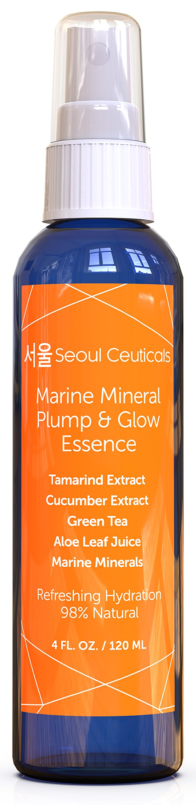 Essence Korean Skin Care - This Facial Essence Is A Must For An Effective Korean Beauty Routine - Contains Japanese Green Tea, Aloe, Cucumber, Marine Minerals & Tamarind Extract For That Youthful Glow by SeoulCeuticals