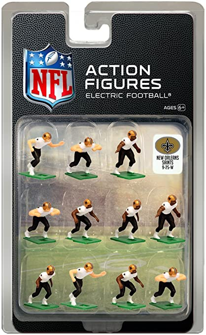 low priced 903a8 d2525 New Orleans Saints Away Jersey NFL Action Figure Set