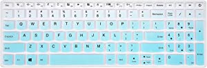 Keyboard Cover Compatible with Lenovo Yoga C940 C740 15.6, ideaPad 130 320 330 520 330s 720s L340 S145 S340 S540 15.6, 15.6