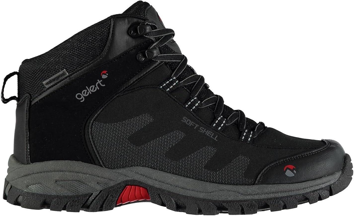 Gelert Mens Softshell Mid Walking Boots