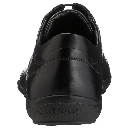 Geox Herren Sneaker, U8166N 00043 C9999, EU 39, black: Geox