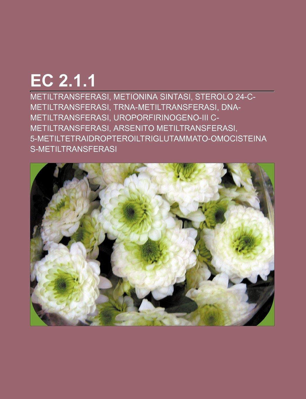 EC 2.1.1: Metiltransferasi, Metionina sintasi, Sterolo 24-C ...