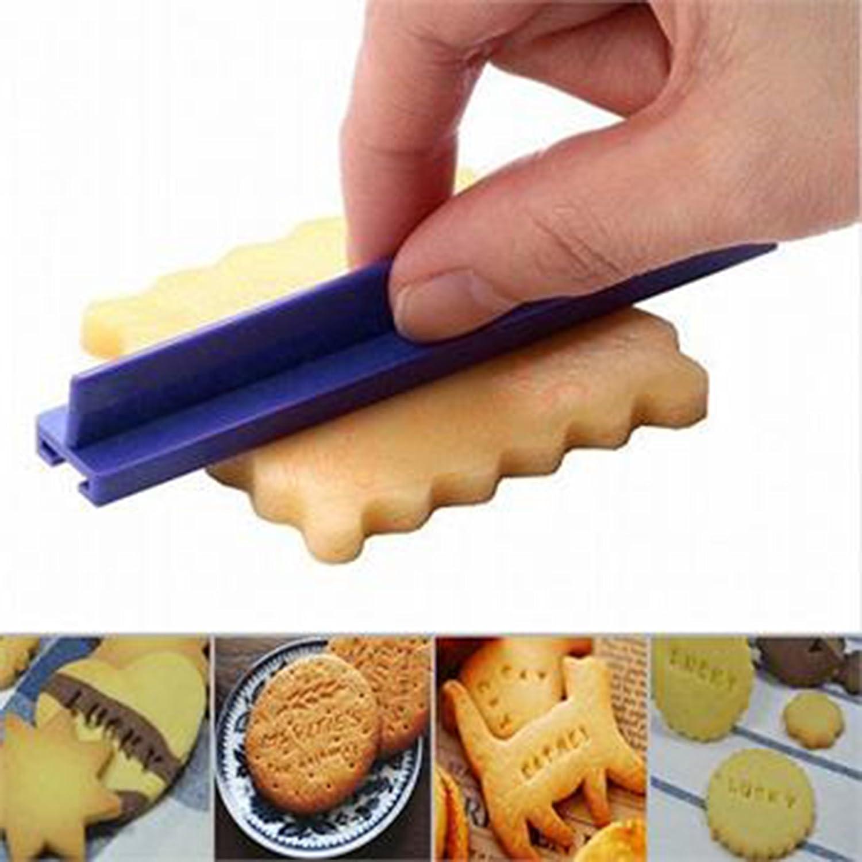 Smartrich Moule /à Cake DIY Plastique lettres de lalphabet Nombre Lettre Moule /à Cake DIY pour presse Tampon /à Biscuits Emporte-pi/èces Moule Outil de d/écoration