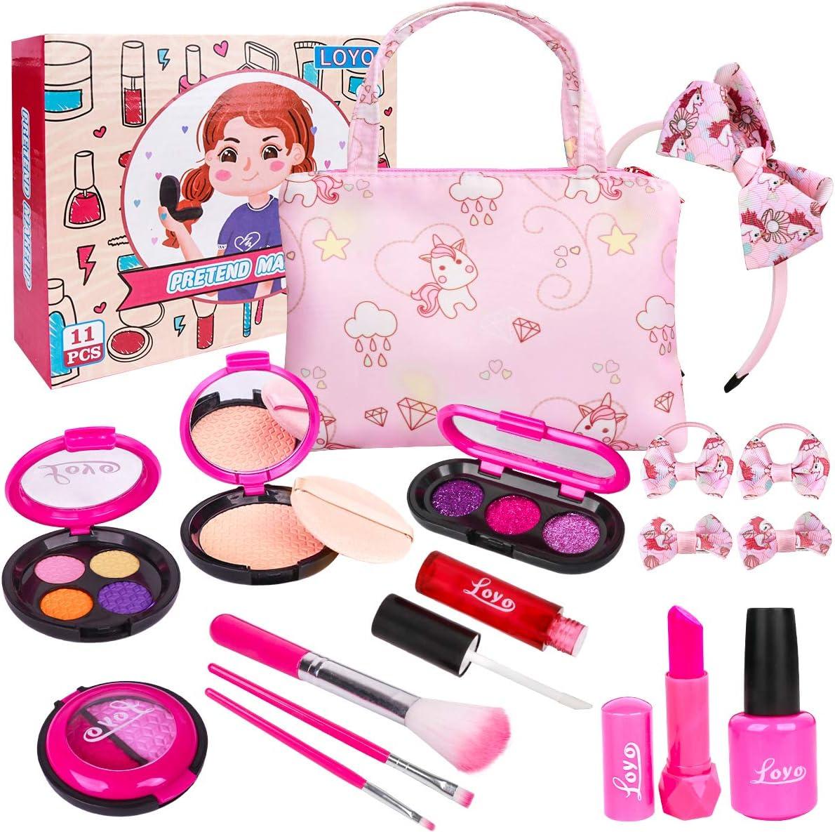 LOYO Girls Pretend Play Makeup Sets $12.74 Coupon