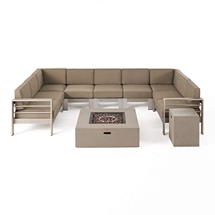 Amazon.com: Great Deal Furniture Denise - Sofá de aluminio ...