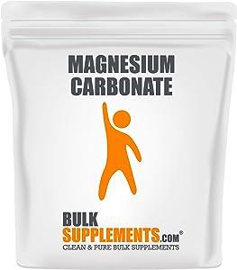 BulkSupplements Magnesium Carbonate Powder (250 Grams)