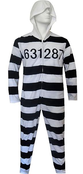 Old School Prisoner Union Suit Onesie