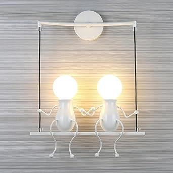 Innen Kreativen Gestalten Wandleuchte Modern Wandbeleuchtung E27 Wandlampe  Stylish Licht Wand Lampe / Leuchte Wandlicht Für