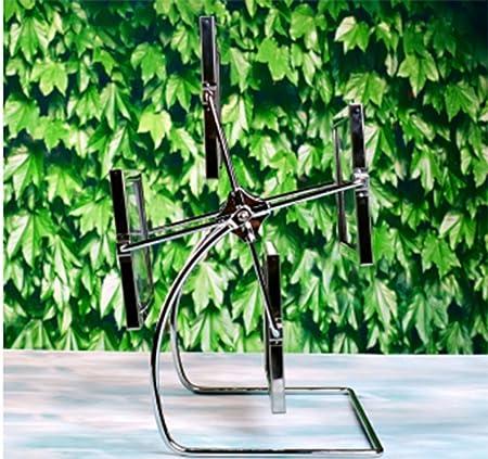 weiwei Portaretrato giratorio de metal, Marco de fotos de noria de molino creativo Marco de artes-A: Amazon.es: Hogar