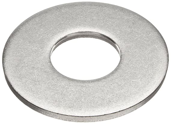 0.0505 Nominal Thickness Made in US 18-8 Stainless Steel Flat Washer Pack of 50 #10 Hole Size 0.188 ID 0.188 ID 0.438 OD 0.0505 Nominal Thickness Accurate Manufacturing ACC/_WAS404#8 0.438 OD