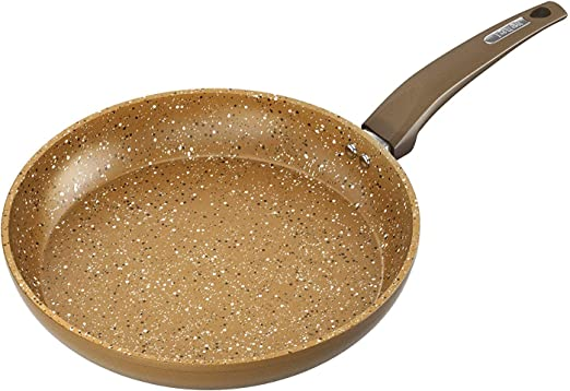 Brand New Tower 28cm Gold Forged Fry Pan with Cerastone Non-Stick Coating