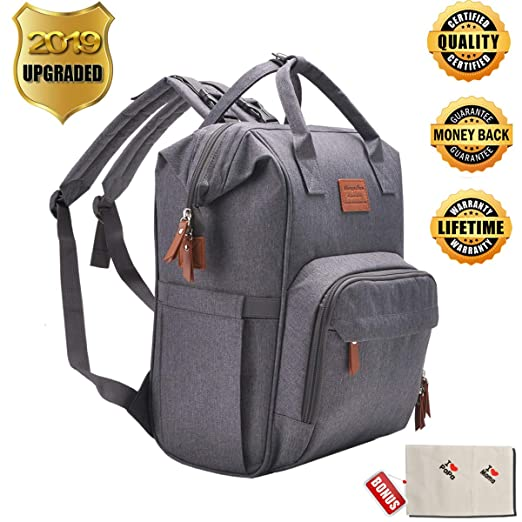 Backpack Diaper Bag ONLY $18.8...