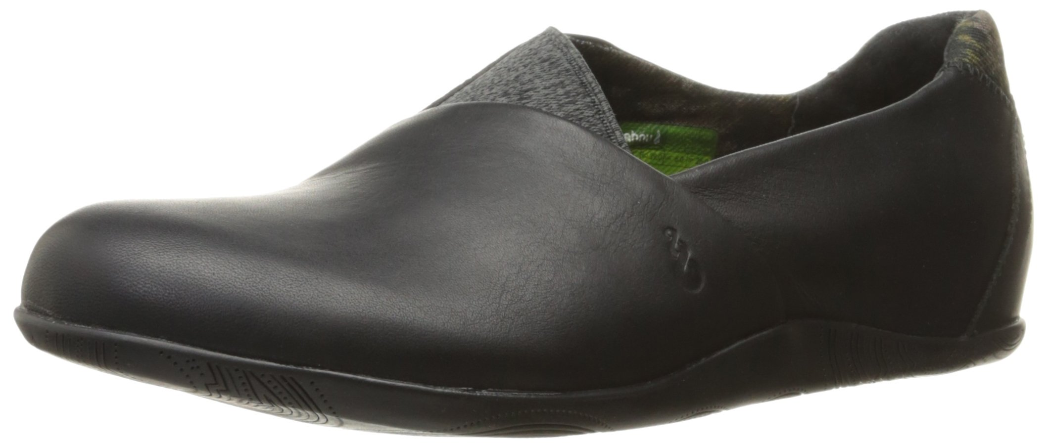 Ahnu Women's Tola Slip-On Casual Shoe, Black, 7.5 M US