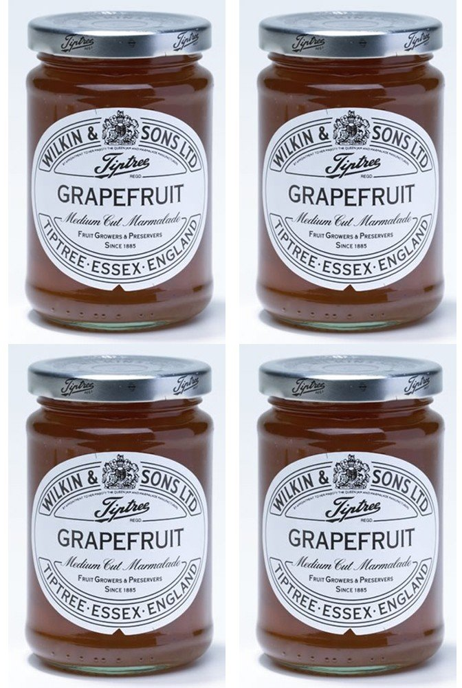 (4 PACK) - Tiptree - Grapefruit Marmalade   340g   4 PACK BUNDLE