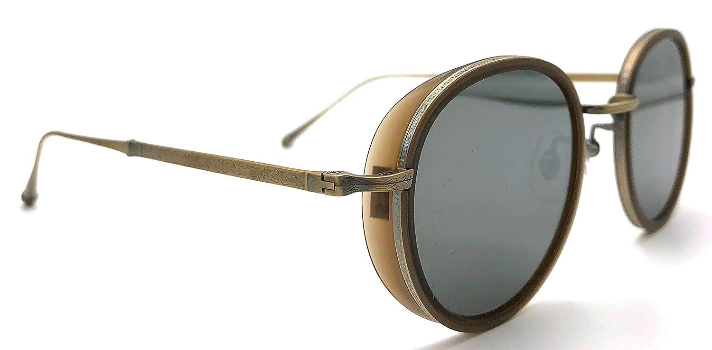 Amazon.com: Matsuda M3063 - Gafas de sol con espejo de color ...