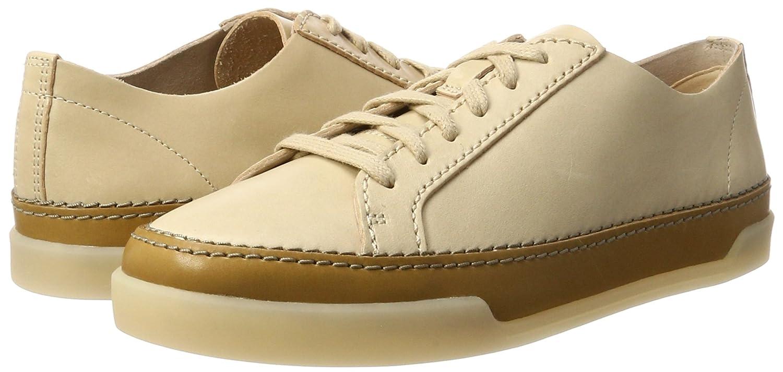 Clarks Damen Hidi Holly Sneaker Leder) Beige (Nude Leder) Sneaker 6f2445