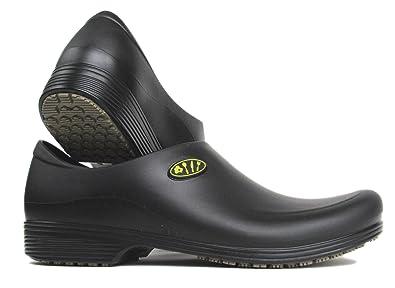 amazon com shoes chef shoes for men slip resistant stickypro rh amazon com Kitchen Uniforms Shoes Kitchen Safe Shoes