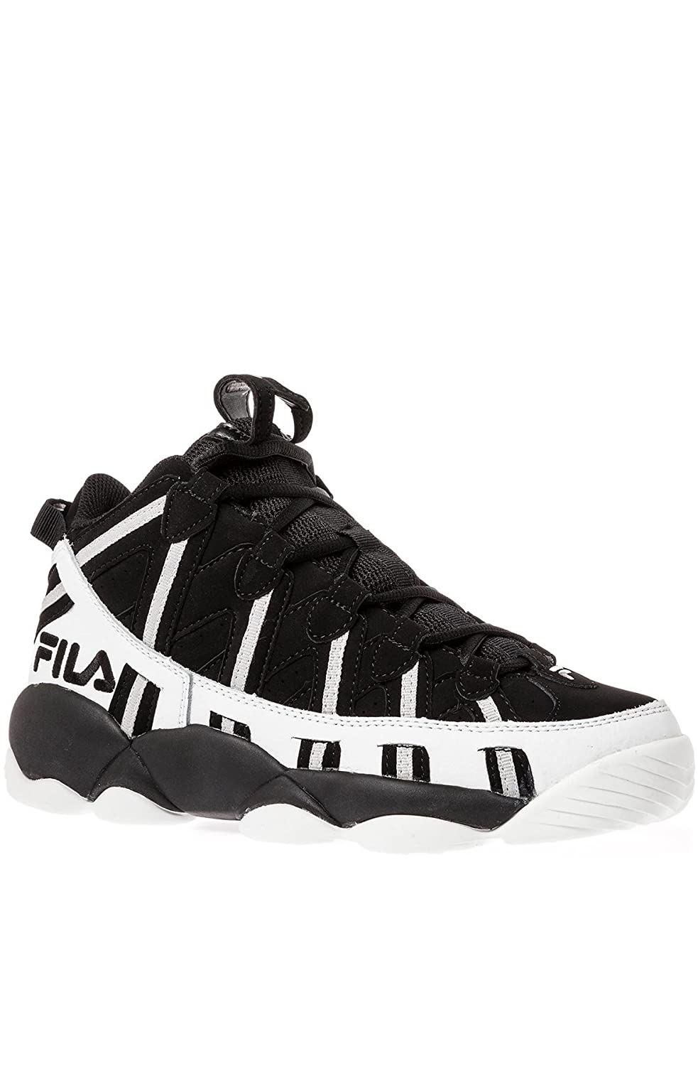 c0f624689013 Fila Men s Spaghetti Sneaker 8 Black  Amazon.co.uk  Shoes   Bags