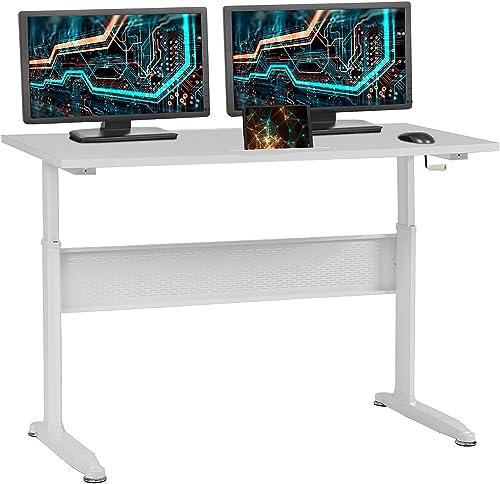 Standing Desk Converter Computer Workstation Height Adjustable Desk Large Desktop Stand Up Desk Ergotron Laptop Sit-Stand Desk Fit Dual Monitor