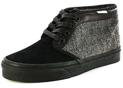 58bd7e4da2 Vans New Unisex Chukka 79 Reptile Grey Leather And Twill Upper Boots - Grey  - UK