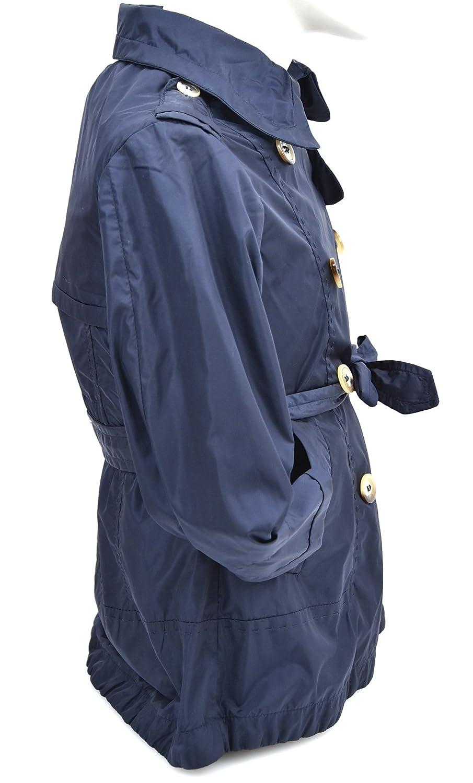 MONCLER Abrigo Chaqueta Blazer para NIÑA Nylon Azul Art. PDS039 N0Q50 40049 4 Anni - Years BLU - Blue: Amazon.es: Ropa y accesorios
