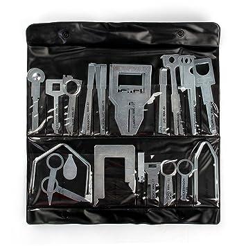 38x Autoradio Entriegelung Ausbau Werkzeug Reparatur Set für VW Audi Ford Seat