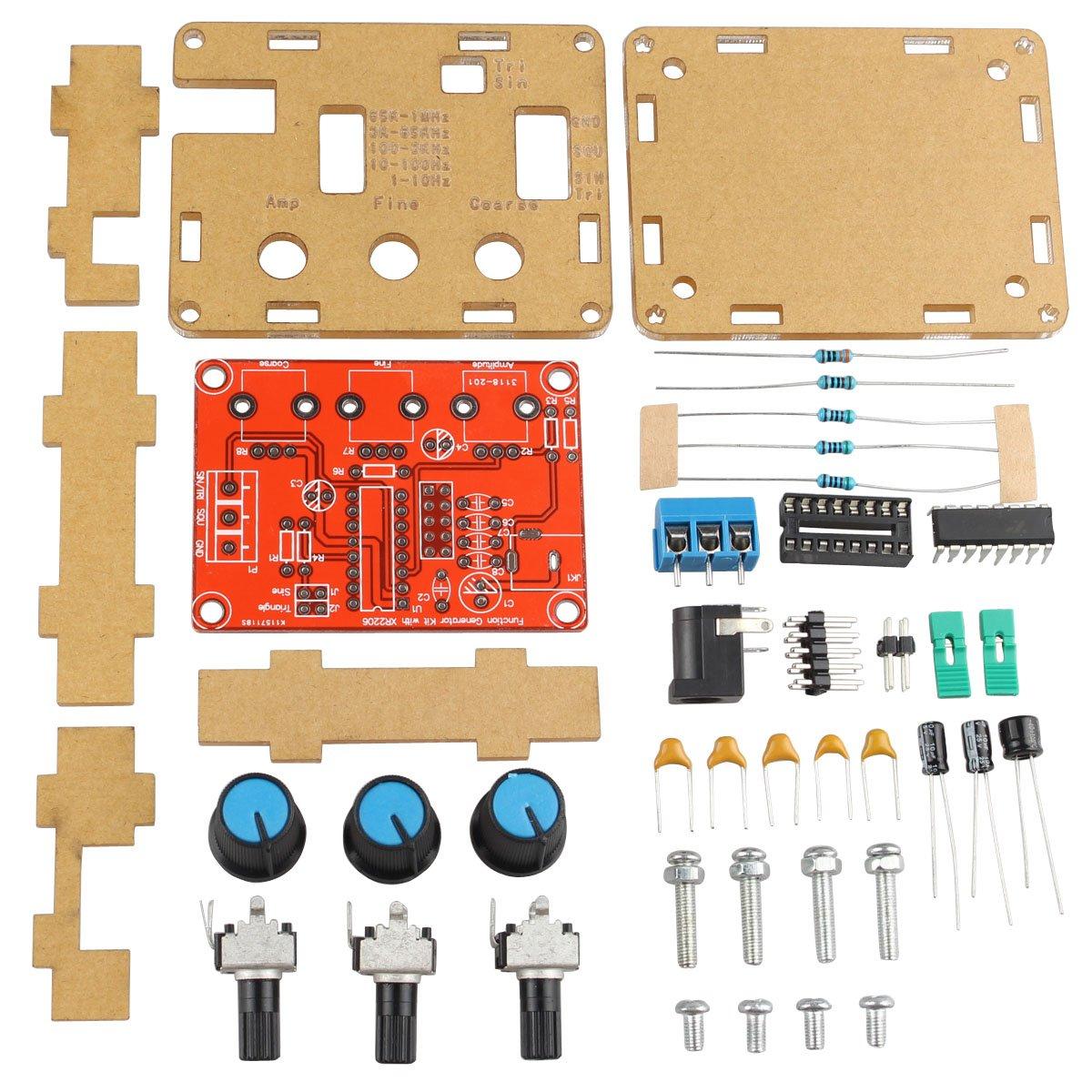 Haljia Xr2206 High Precision Function Signal Generator Circuit Car Tuning Electronics