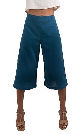 ba6b545d9e6 Tropic Bliss Women s Organic Cotton Capri Pants