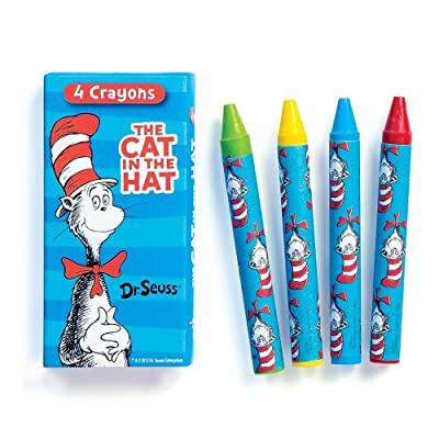 Dr. Seuss' The Cat In The Hat Crayon Boxes