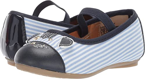 c5f716e7c320 Amazon.com  Tommy Hilfiger Kids Baby Girl s Kayleigh Tiger (Toddler)  Chambray 6 M US Toddler  Shoes
