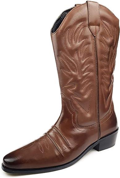 bottes western amazone homme