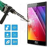 :MoKo Premium HD Rimuovono 9H Durezza Vetro Temperato Pellicola Protettiva Schermo con rivestimento oleorepellente per ASUS ZenPad S 8.0 inch Tablet (Z580C), TRASPARENTE