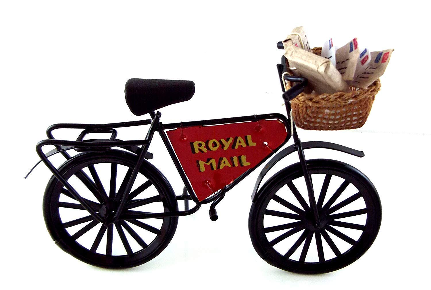 Melody Jane Dolls House Miniature Outdoor Post Office Royal Mail Post Postmans Bike Bicycle