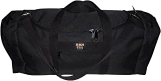 product image for BAGS USA Carry on Bag,Rugby Bag Oversize Carry-on U Opening for Easy Excess Front Pocket.