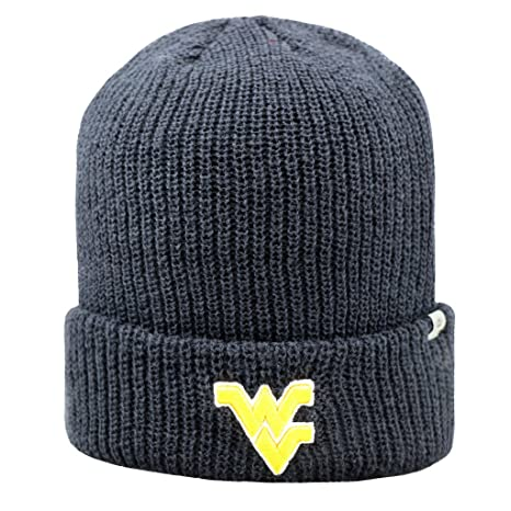 2f6924a9 West Virginia Mountaineers NCAA Heavy Cuffed Knit Beanie Stocking Hat Cap  261991