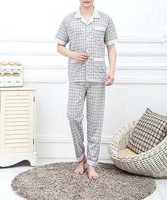Beancan 2018 Mens Sleepwear Menss Cottons for Men 8149,Model4,M