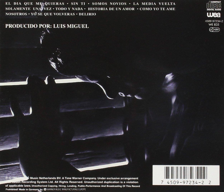 Segundo Romance Luis Miguel Amazon Es Música