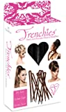 Frenchies Ultra Flocked Extra Soft French Twist Hair Pins: The French Hair Pins for Buns, Updo Hairstyles, Hair Extensions + Wigs - 20 Count