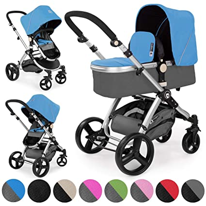 Froggy® MAGICA 2012 cochecito combi azul: Amazon.es: Bebé