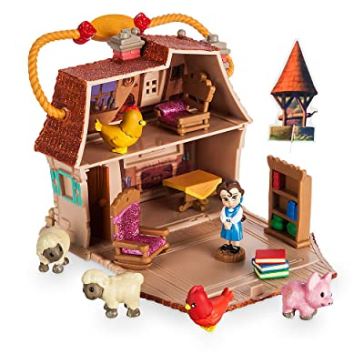 Disney Animators' Collection Belle Micro Play Set: Toys & Games