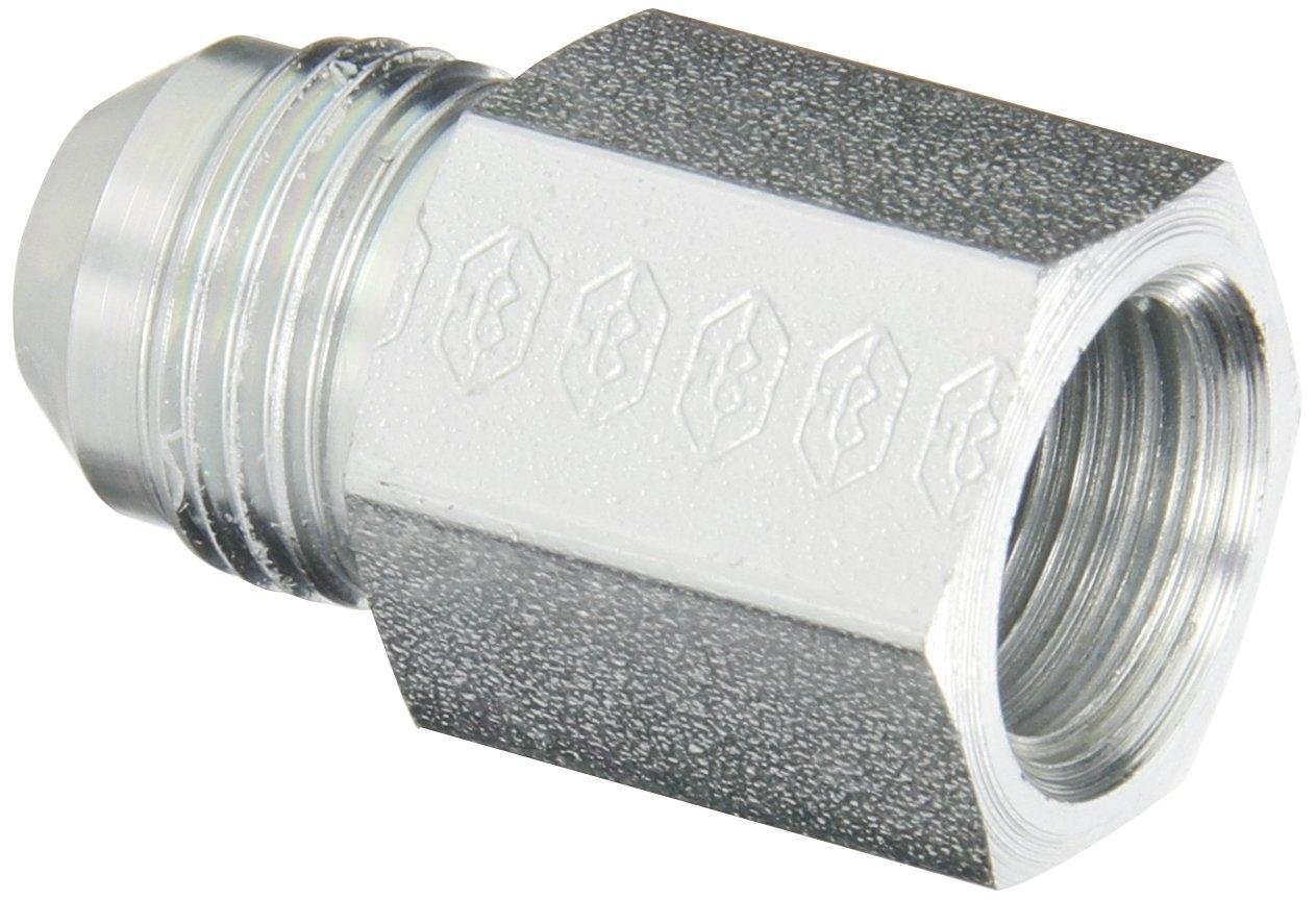 Flare-Twin Fitting Adapter JIC 1//4 NPT Male x 3//8 JIC Male Eaton Weatherhead C5205X6 Carbon Steel SAE 37-Degree
