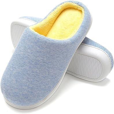 Zapatillas de Casa de Hombre - Zapatillas Casa Ultraligero Cómodo y Antideslizante, Zapatilla de Estar Invierno por Casa para Hombre Fluff Antideslizantes: Amazon.es: Zapatos y complementos