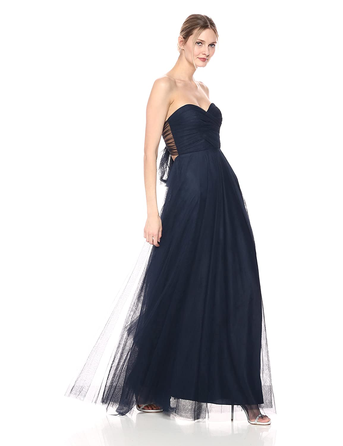 fd1c407ef87 Jenny Yoo Womens Julia Sweetheart Tulle Convertible Long Gown Special  Occasion Dress  Amazon.ca  Clothing   Accessories