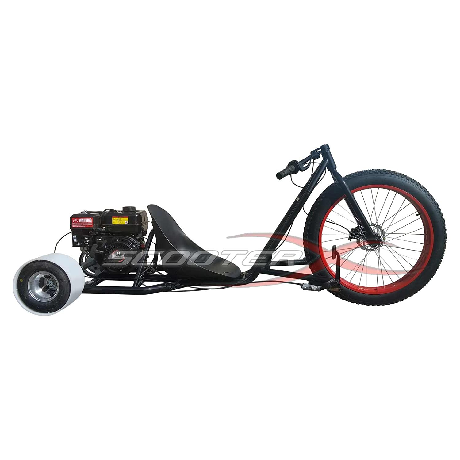 Amazon.com: ScooterX Drifter 6,5 HP 196 cc, Go Kart Drift ...