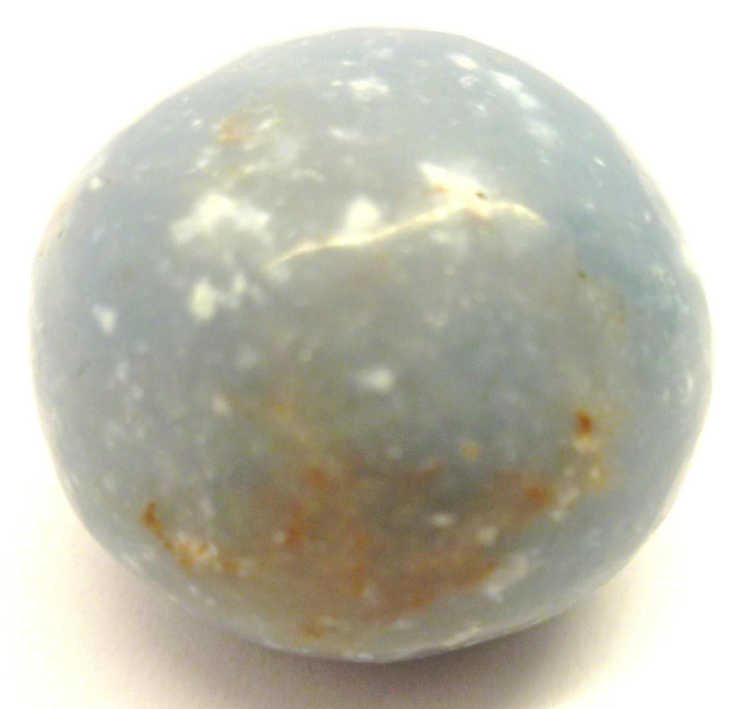 Tumbled Angelite Angelic Reiki Tumble Stone - A Grade Quality Crystal - Helps you connect with angels - Free Postage! by Mystery Mountain